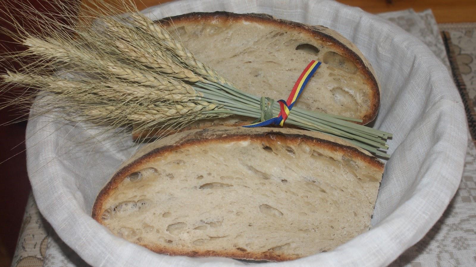 Pâine de casă ca pe vremea bunicii