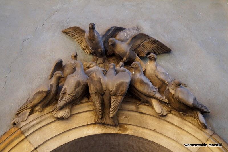 ulica Stare Miasto kamienice stolica gołębie