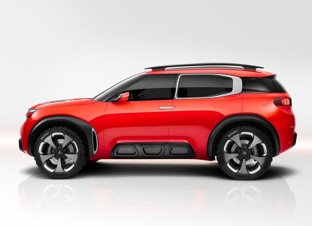 シトロエン「Aircross Concept」のサイド画像