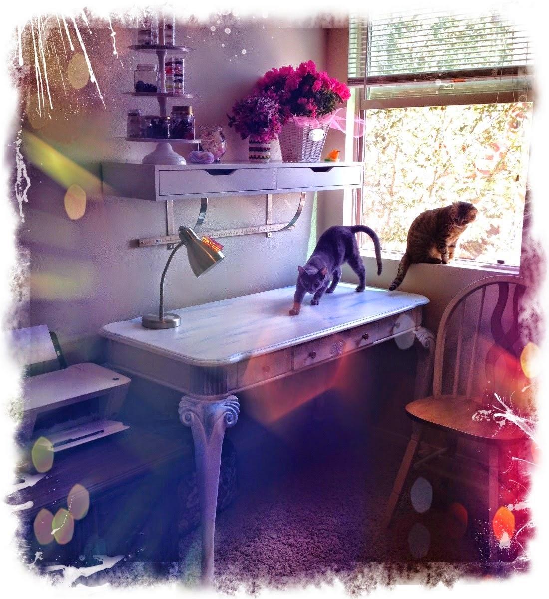 Моя рукодельная комната.My handmade room