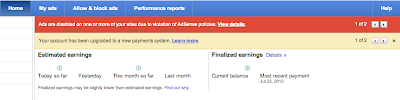 Policy+Notifications Stay on top of AdSense program policies with new notifications in your account
