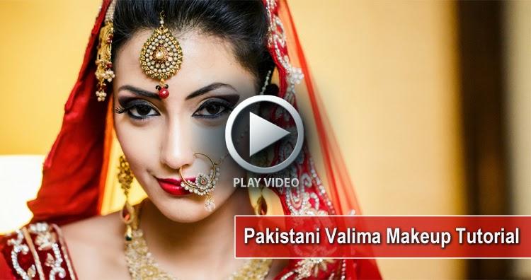 Valima Occasional Bridal Makeup Tutorial - Full Makeup ...