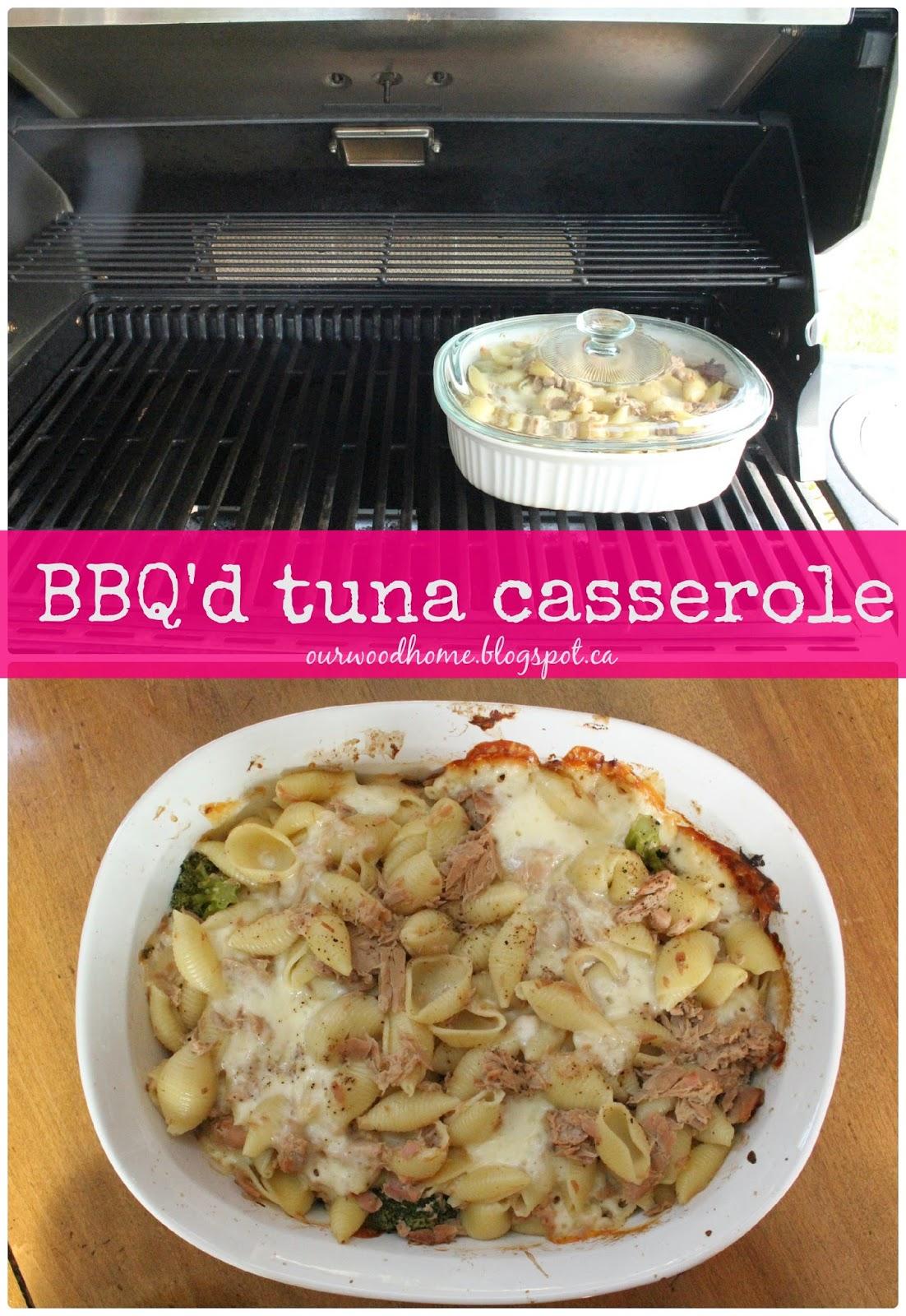 BBQ tuna casserole