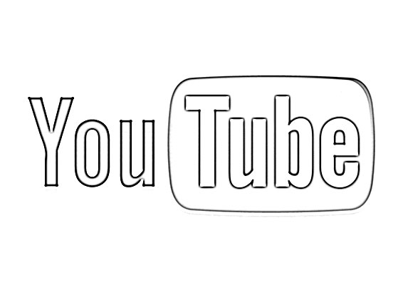Youtube Logo Sketch