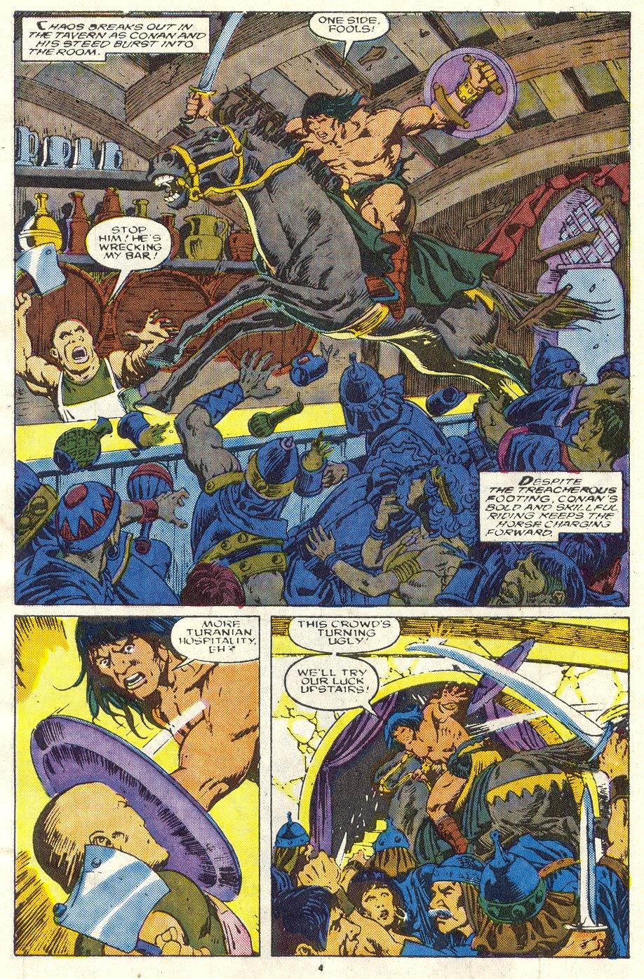 Conan the Barbarian (1970) Issue #219 #231 - English 5