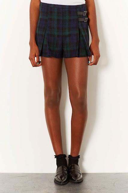 kilt shorts