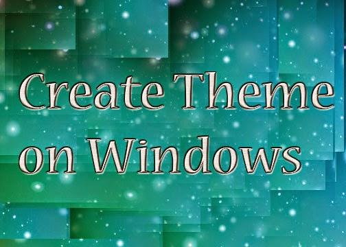 Theme on Windows