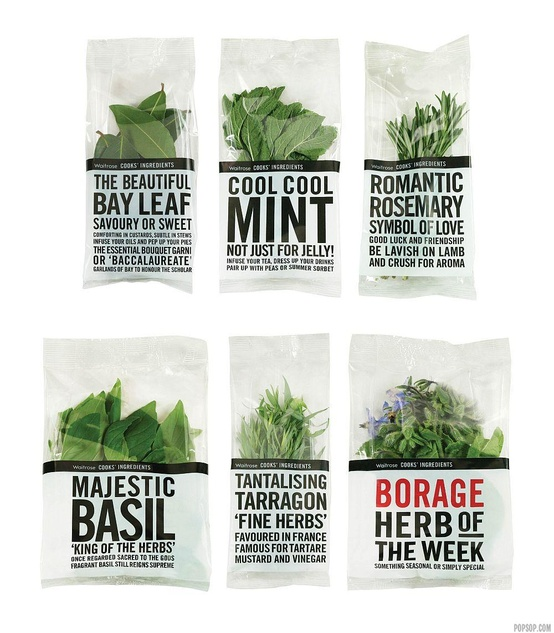 packaging  herbes aromatiques