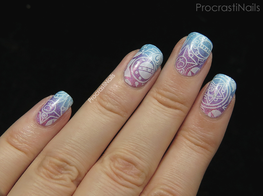 Nail Art + Review // Born Pretty Store Sailor Moon Stamping Plate BP ...
