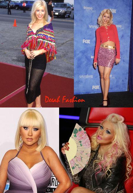Christina Aguilera Dulu dan Kini