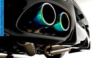 Hyundai genesis car 2012 exhaust - صور شكمان سيارة هيونداى جينيسيس 2012