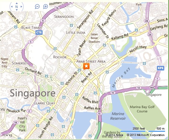 Parkview Square Singapore Location Map – Tourist Map Of Singapore City