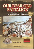 7th Bn Aif Military book Battalion History Our Dear Old Battalion