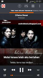 musiXmatch - Aplikasi Karaoke + Lirik Lagu Android