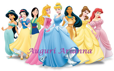 bimbi a tavola buon  pleanno principessa arianna
