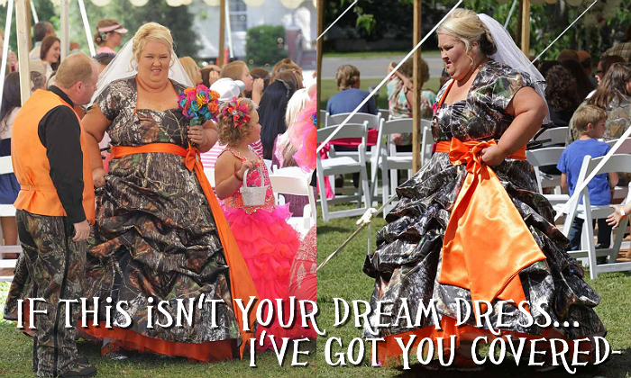 Mama June's wedding dress may not be your dream gown, but Light In The Box has something that is.