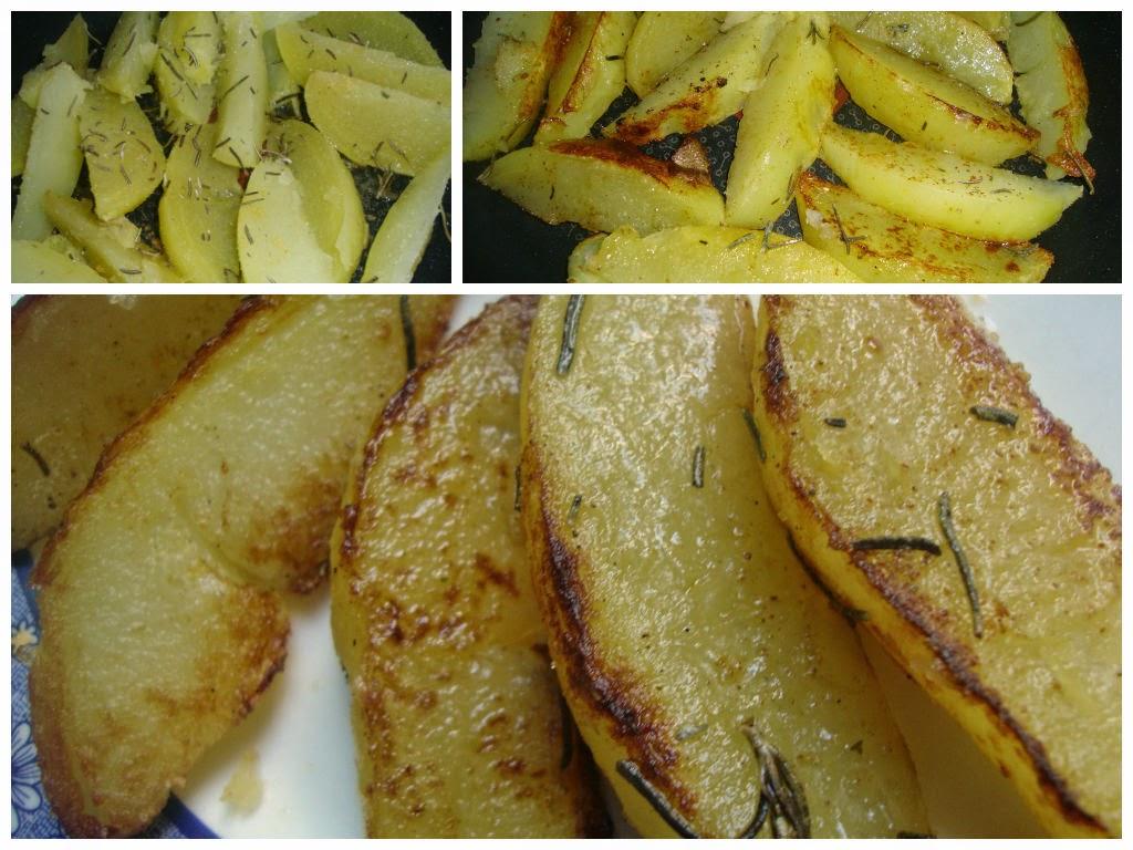 patatas al romero