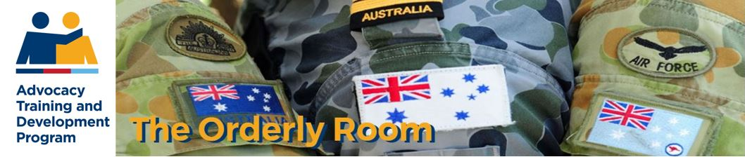 The Orderly Room