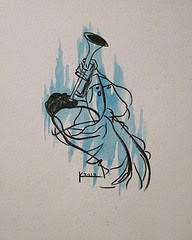 Trumpet Player #2 (Sold)