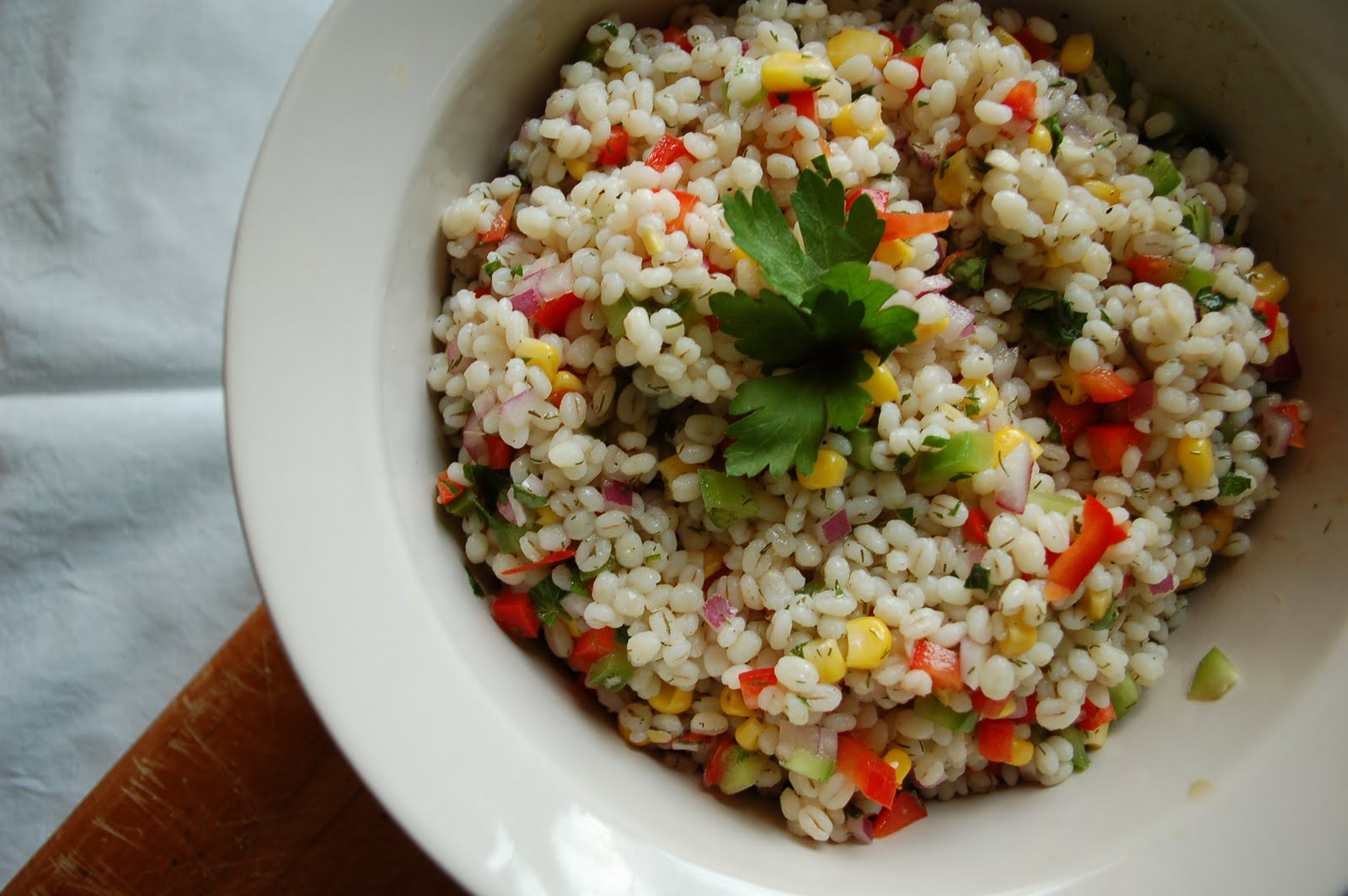 The Spice Garden Cold Barley Salad
