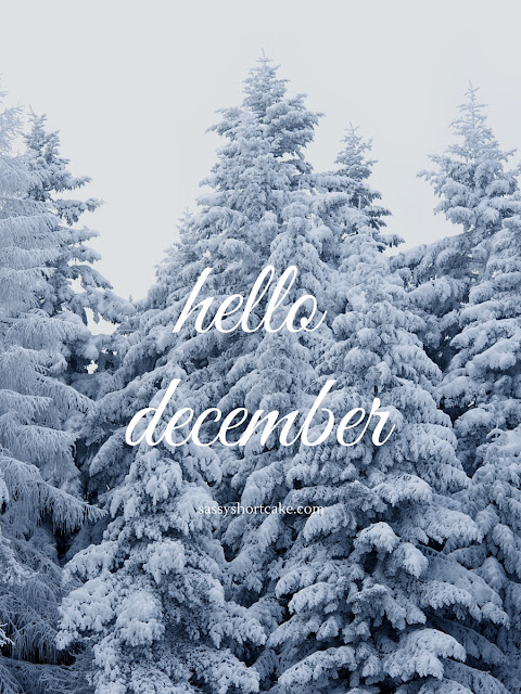 hello december |blog.sassyshortcake.com