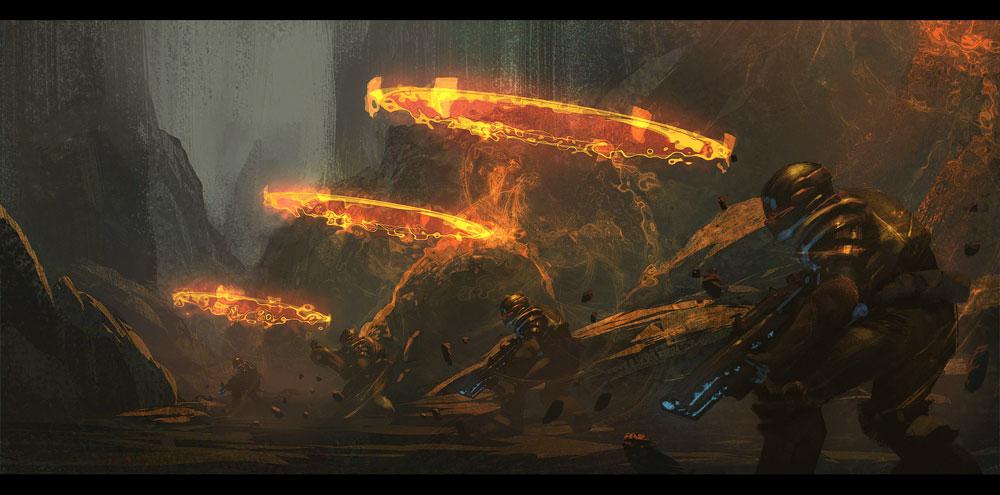 Au77 Doctor Strange Hero Illustration Art: RYAN LANG PORTFOLIO: Wreck-It Ralph Visual Development