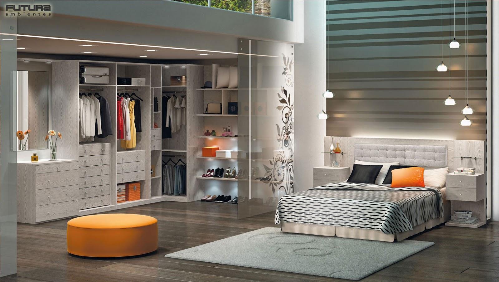 DECORAR E ARTE: Ter um quarto com banheiro e closet deixa qualquer  #AA6121 1600x904 Banheiro Com Closet Integrado Pequeno