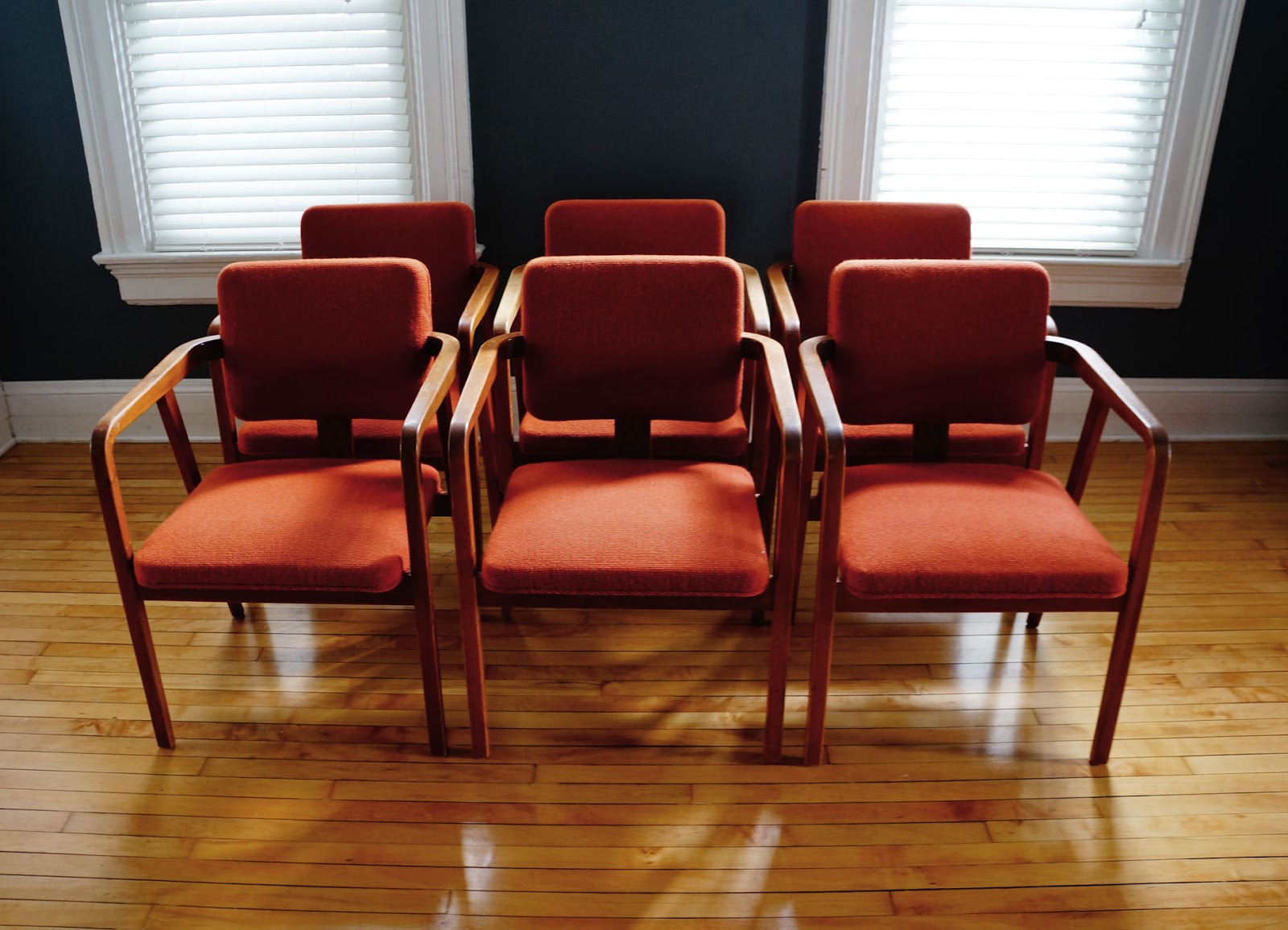str8mcm  george nelson dining chairs