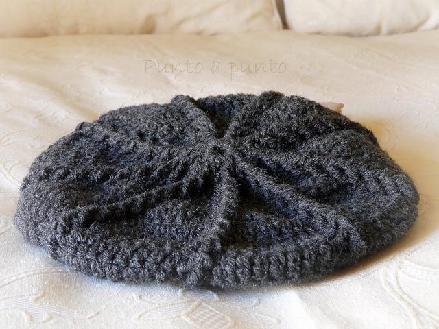 Boinas tejidas al crochet patrones - Imagui
