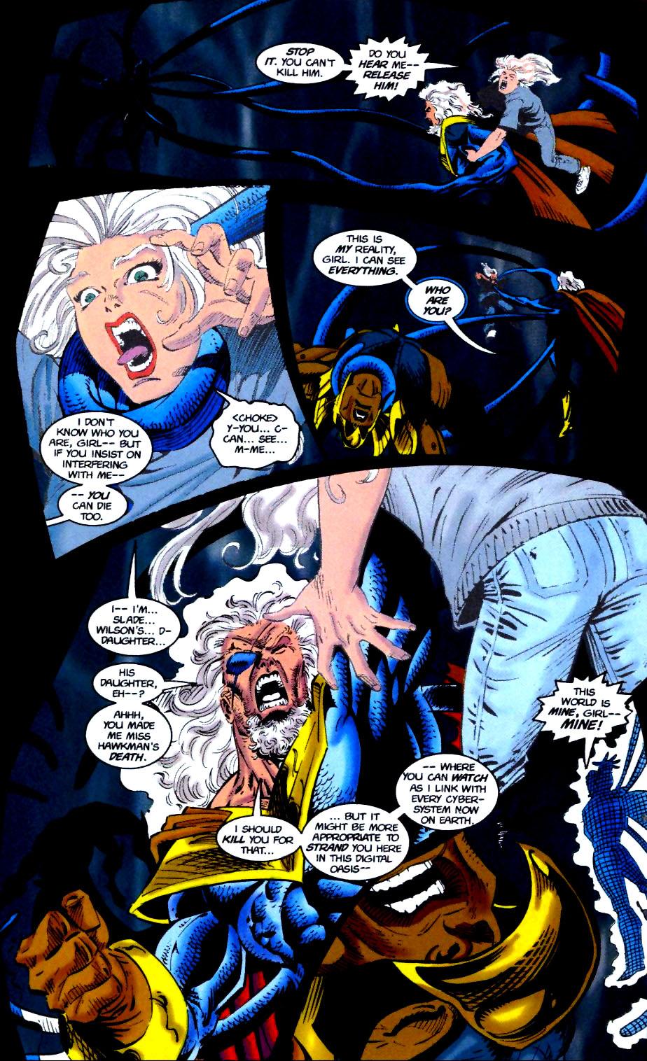 Deathstroke (1991) Issue #51 #56 - English 21