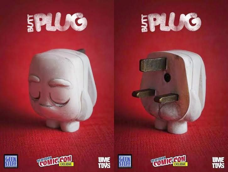 New York Comic Con 2014 Exclusive Butt Plug Resin Figure by UME Toys