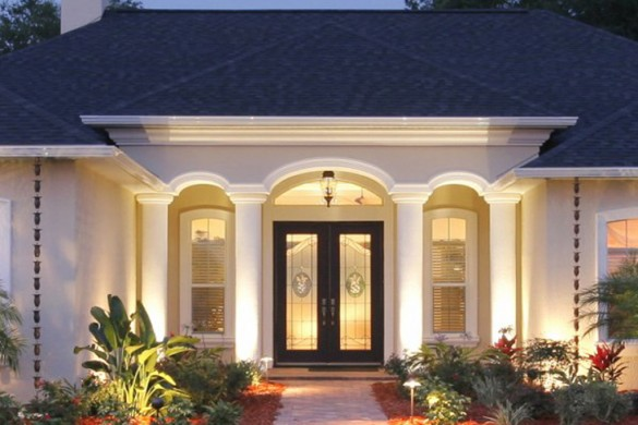 Modern homes designs main entrance ideas new home designs for Maine home and design
