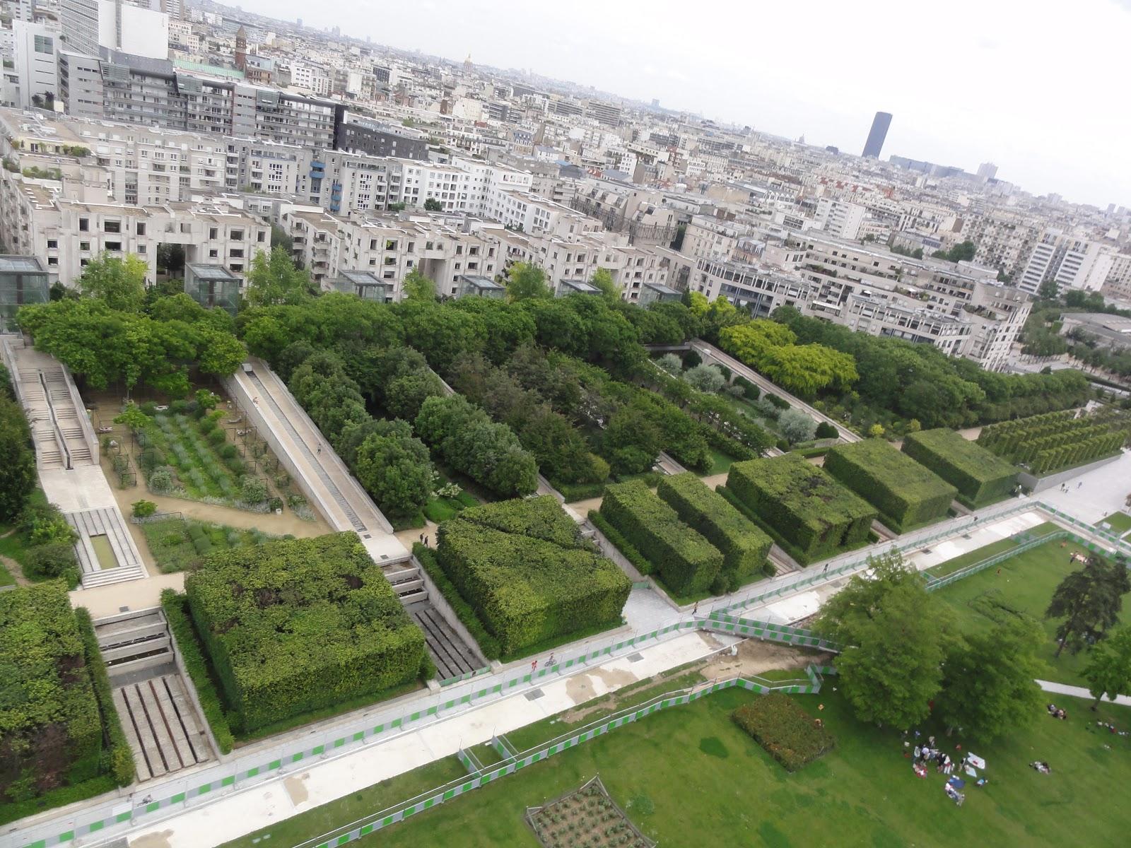 Le coquelicot tiger lily parc andr citro n paris for Le jardin