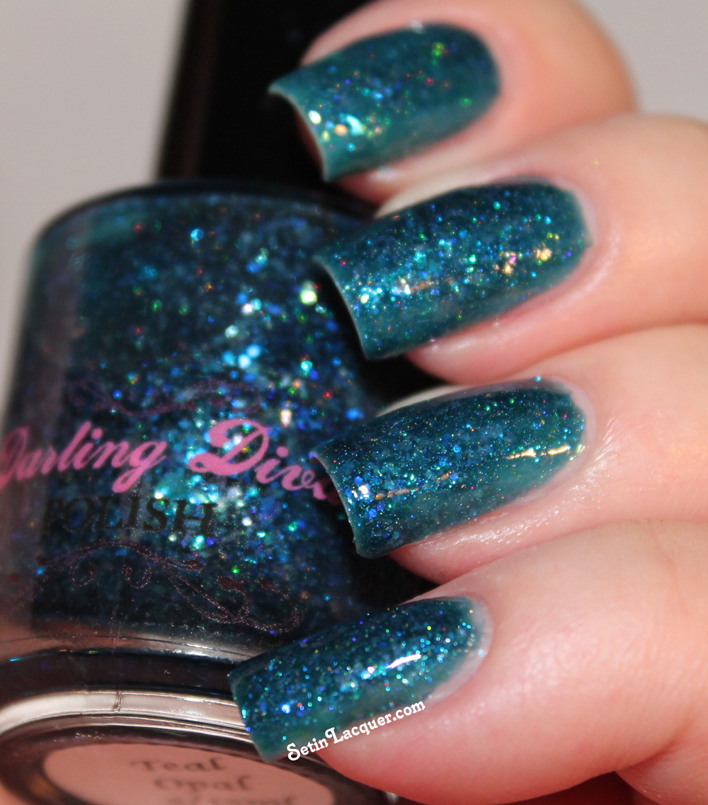 Darling Diva - Teal Opal