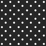 black white polka dot pattern