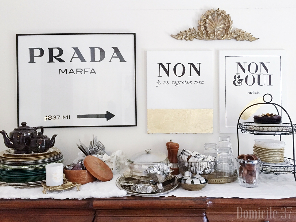 New Year Room Refresh Dining Reveal