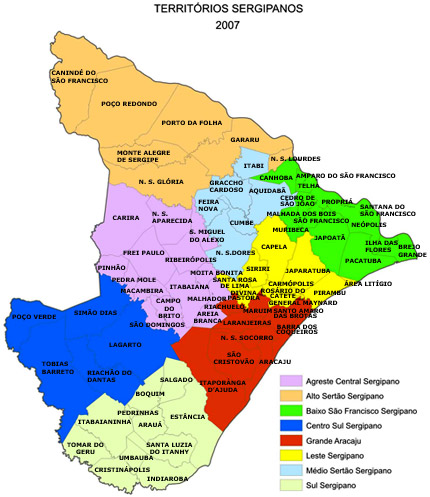 Cidades de Sergipe