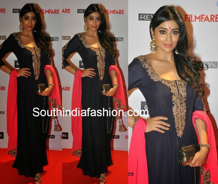 shriya at filmfare awards preparty