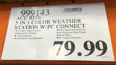 Deal for the AcuRite Professional Weather Center at Costco