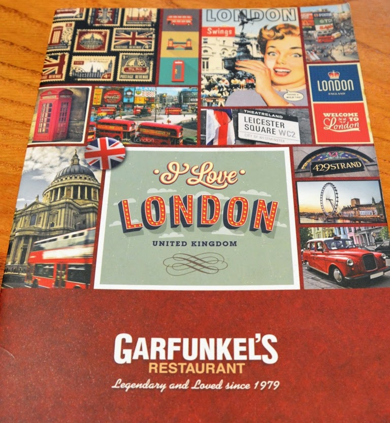 Garfunkels Restaurant London card