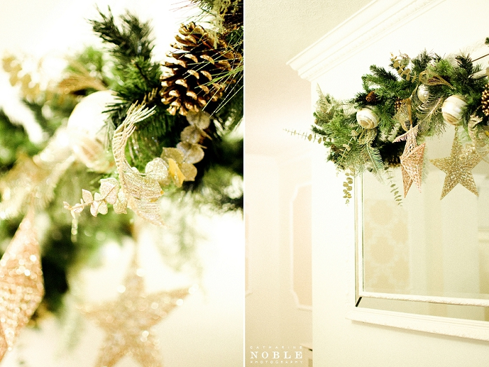 christmas mirror decor singleton lodge country house