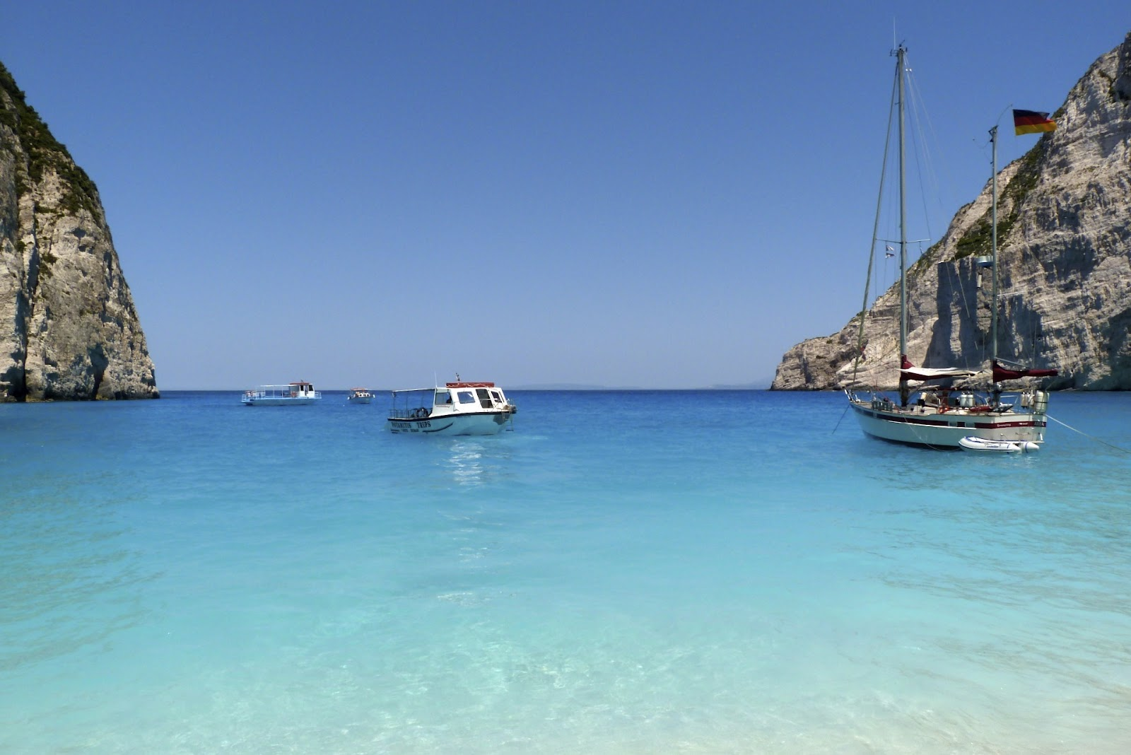 Guide To Shipwreck Cove Zakynthos