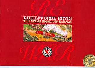Welsh Highland Railway promotional re-building booklet