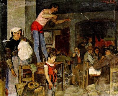 Anselmo Miguel Nieto, Los vagabundos, Pintor español,