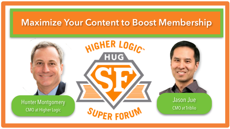hunter montgomery jason jue higher logic super forum 2014