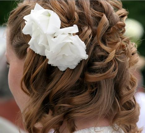 wedding hairstyles medium length