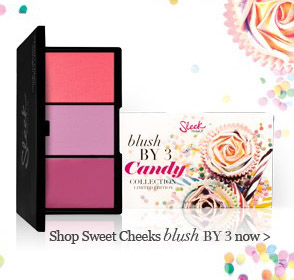 Sleek Makeup Limited Edition Candy Collection: Sweet Cheeks Blush by 3