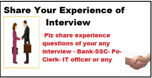 bank interview questions- ibps po interview questions- sbi interview questions- experience