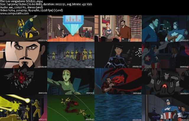 Los Vengadores Temporada 2 Completa Español Latino Descargar