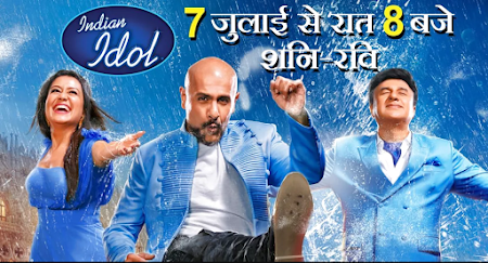 Poster Of Indian Idol 15th July 2018 Watch Online Free Download